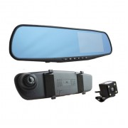 Зеркало видеорегистратор L9000 (Черный)