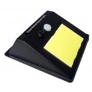 Настенный светильник на солнечной батареи G-1281-COB (Черный)