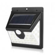 Настенный светильник на солнечной батареи T2866-40SMD (Черный)