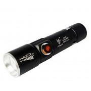 Светодиодный аккумуляторный фонарь FA-616T6 (Черный)
