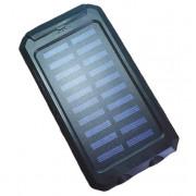 Внешний аккумулятор с солнечной батареей Solar Power Box 20000 mAh (Черный)