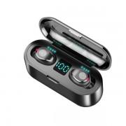 Беспроводные Bluetooth наушники F9 TWS (Черный)