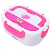 Ланч бокс с подогревом от сети Electric Lunch Box (Розовый)