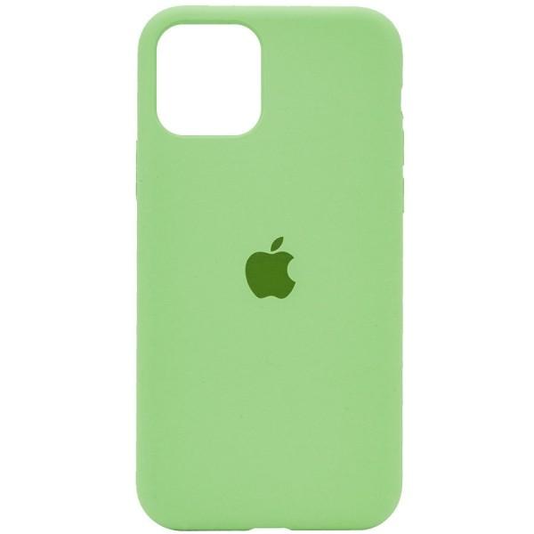 Чехол силиконовый для iPhone 12 (Зеленый)