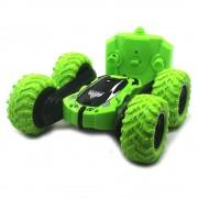 Радиоуправляемая машинка перевертыш Double Sided Stunt Car (Зеленый)