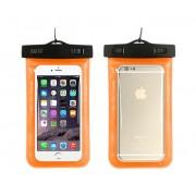 Универсальный водонепроницаемый чехол для телефона (Оранжевый)