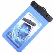 Универсальный водонепроницаемый чехол для телефона (Синий)