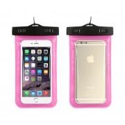 Универсальный водонепроницаемый чехол для телефона (Розовый)