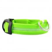 Светящийся ошейник для собаки (Зеленый)