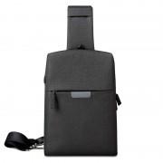 Рюкзак однолямочный WIWU Odyssey Crossbody Bag (Черный)