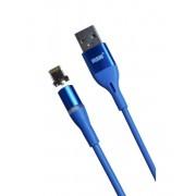 Магнитный кабель MRM USB-Lightning, 1m (Синий)