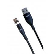 Магнитный кабель MRM USB-мicroUSB, 1m (Черный)