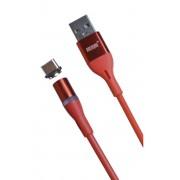 Магнитный кабель MRM USB-Type-C, 1m (Красный)