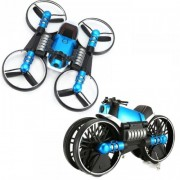 Игрушка трансформер квадрокоптер-мотоцикл Leap 2in1 (Синий)
