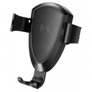 Автомобильный держатель для телефона с беспроводной зарядкой TOTU CACW-013 (Черный)