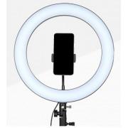 Светодиодная кольцевая лампа Nonpolar Dimming 36см (Черный)