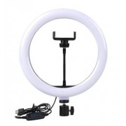 Светодиодная кольцевая лампа Ring Fill Light 26см (Черный)