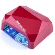 Лампа для маникюра CCFL+LED Lilly Beaute Diamond (Красный)