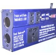 Автомобильный инвертор Beauty-car 220 Вт (Синий)