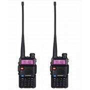 Двухдиапазонная радиостанция Baofeng UV-5R, 2 шт (Черный)