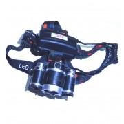 Налобный светодиодный фонарь MX-KK-A5-T6 (Черный)