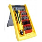 Набор отвертки с насадками IRON SPIDER JK-6090, 37in1 (Желтый)