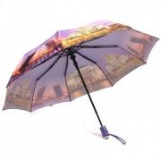 Зонт женский полуавтоматический Pasio PS-7834-1 (Фиолетовый)