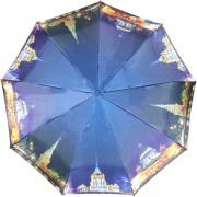 Зонт женский полуавтоматический Pasio PS-7834-3 (Темно-синий)