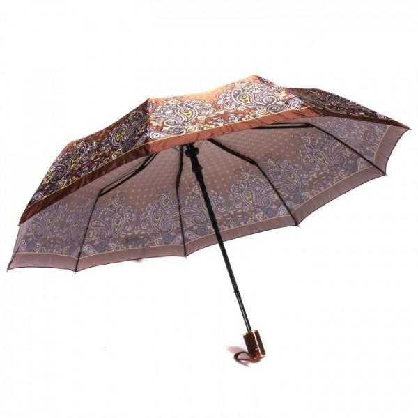 Зонт женский полуавтоматический Pasio PS-7836-1 (Коричневый)