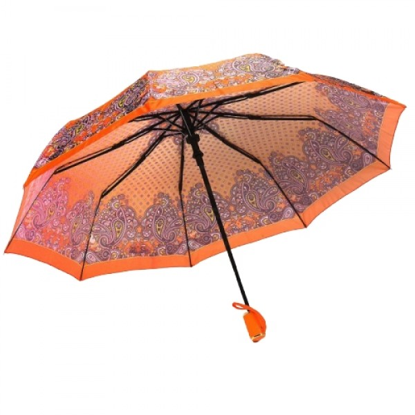 Зонт женский полуавтоматический Pasio PS-7836-3 (Оранжевый)