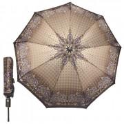 Зонт женский полуавтоматический Pasio PS-7836-5 (Серо-коричневый)
