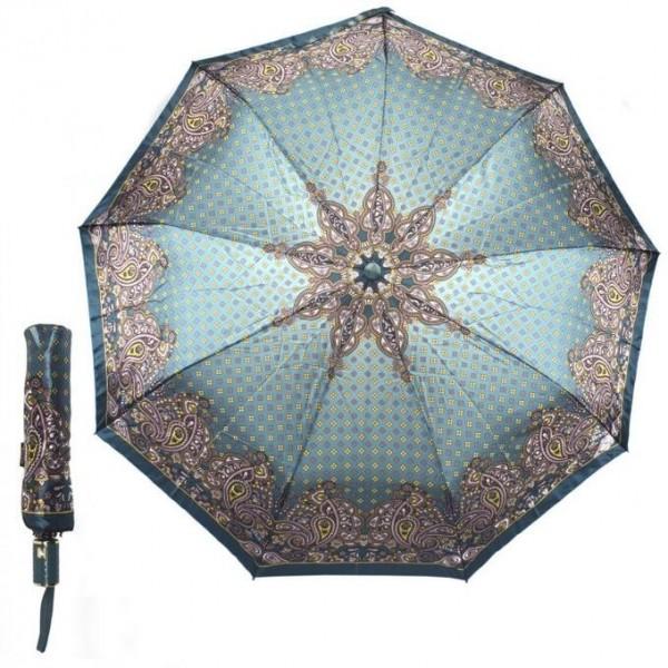 Зонт женский полуавтоматический Pasio PS-7836-6 (Зеленый)