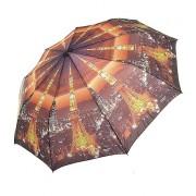 Зонт женский полуавтомат Pasio 120-3 (Коричневый)