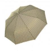 Зонт женский полуавтомат Pasio 132-1 (Коричнево-бежевый)