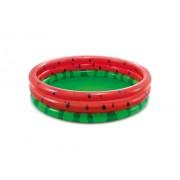 Бассейн детский надувной INTEX NP-58448 Арбуз, 168х38 см (Красно-зеленый)
