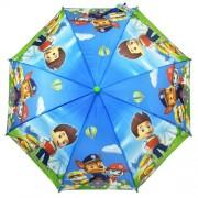Зонт детский полуавтоматический Diniya 430 (Сине-зеленый)