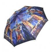 Зонт женский полуавтомат Tulips 002-2 (Синий)