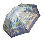 Зонт женский полуавтомат Tulips 002-4 (Микс)