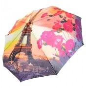 Зонт женский полуавтомат Tulips 038-3 (Оранжевый-синий)