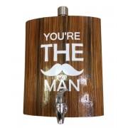 Фляжка You're the man 1,5л (Коричневый)