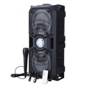 Портативная акустическая система BT-1776/АО-1106  Bluetooth-динамик с микрофоном (Черный)