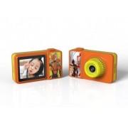 Детский цифровой фотоаппарат Q1 с SIM-картой и сенсорный экран (Оранжевый)