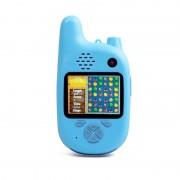 Детский цифровой фотоаппарат Walkie Talkie HD камера с рацией (Голубой)