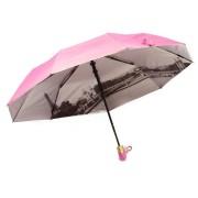 Зонт женский полуавтомат  168-3 (Розовый)