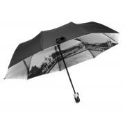 Зонт женский полуавтомат  168-4 (Черный)