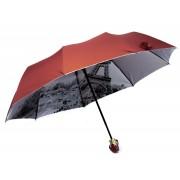 Зонт женский полуавтомат  168-7 (Бордовый)