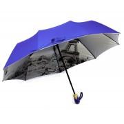 Зонт женский полуавтомат Diniya 168-10 (Темно-синий)