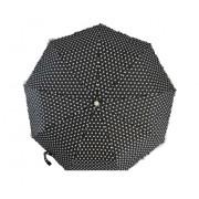 Зонт женский полуавтомат Pasio 7814-2 (Черный)