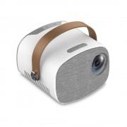LED проектор YG230 (Бело-серый)