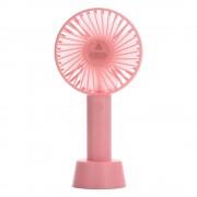 Портативный настольный вентилятор Portable Fan mini (Розовый)
